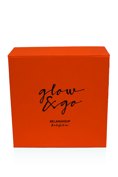 Limited orange beauty gift box